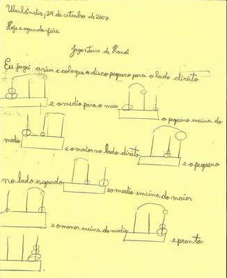 Escrita Torre de Hanói