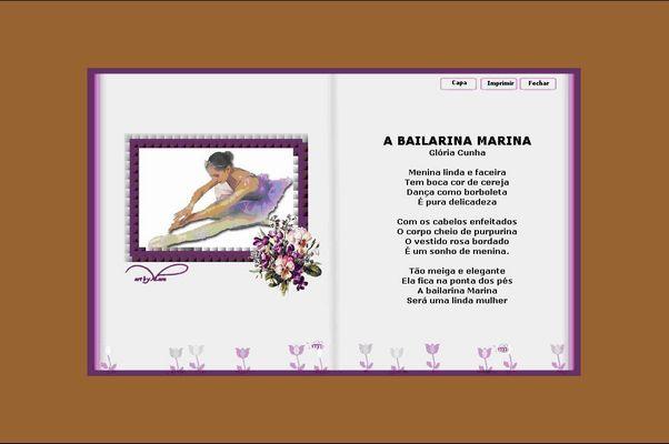 """Cecília Meireles - """"A Bailarina"""" [eucanal.webnode.com.br"""