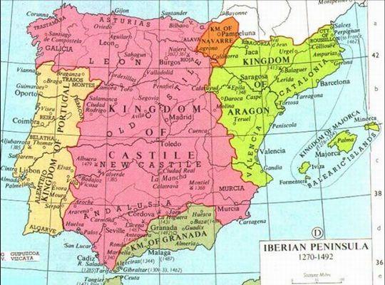 A Peninsula Iberica Em Fins Da Idade Media Seculos Xiii Xv