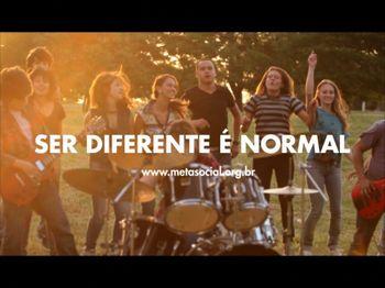 Ser diferente é normal