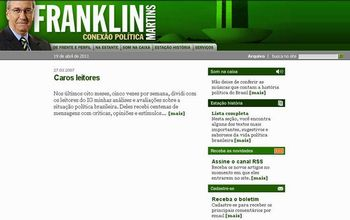 site Franklin Martins