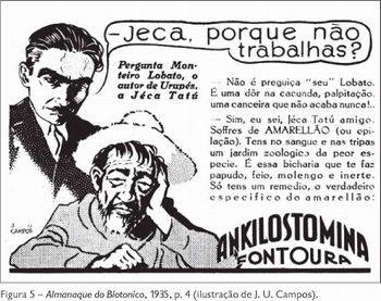 Jeca Tatu e Monteiro Lobato
