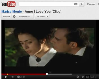 Clipe Amor i love you
