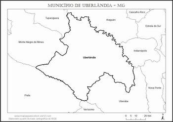mapa municipio udi e vizinhos
