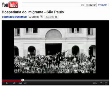 Vídeo Hospedaria do Imigrante