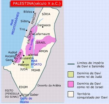 mapa hebreus