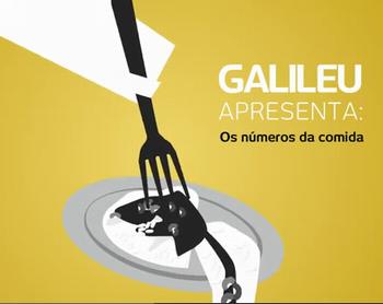 Vídeo : Os números da comida