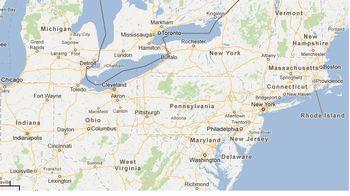Mapa Massachusetts