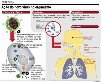 ação do virus