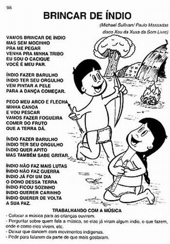 letra de musica brasileira: