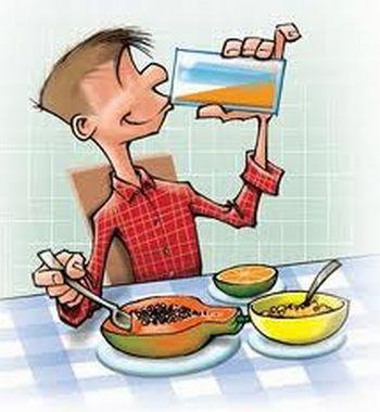 Alimentação saudável menina