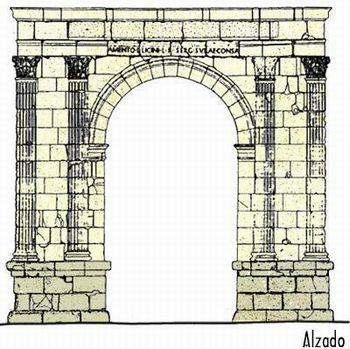 Portal do professor arte romana caracter sticas gerais - Vano arquitectura ...