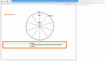 Recurso online sobre polígonos