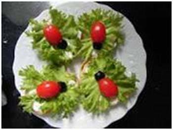 sanduiche de joaninha
