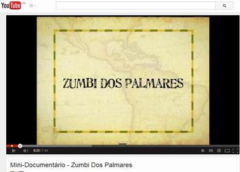 Zumbi dos Palmares - video
