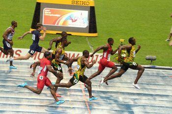 Bolt - correndo