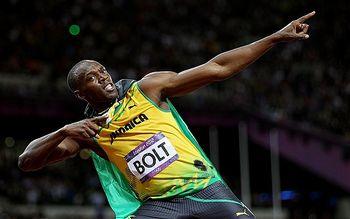 Bolt - comemorando